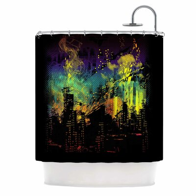 City Grid by Federic Levy-Hadida Shower Curtain