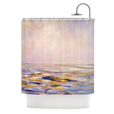 Hazy Sunrise by Iris Lehnhardt Shower Curtain