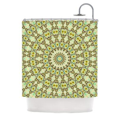 Kaleidoscope by Iris Lehnhardt Geometric Shower Curtain