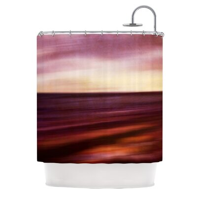Seascape Sunset by Iris Lehnhardt Shower Curtain