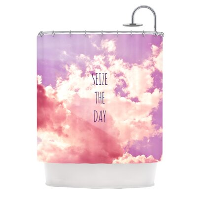Seize the Day by Iris Lehnhardt Shower Curtain