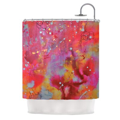 Falling Paradise by Kira Crees Shower Curtain