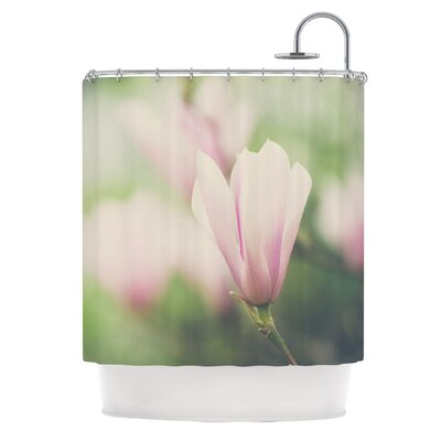A Magnolia by Laura Evans Shower Curtain