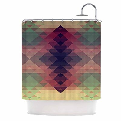 Hipsterland by Nika Martinez Shower Curtain