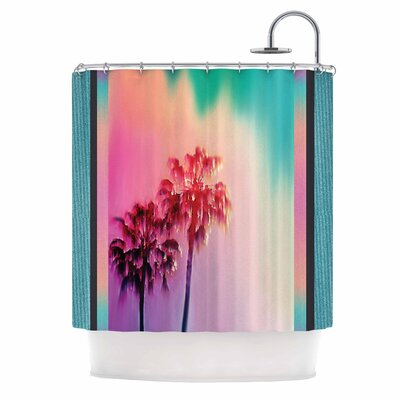 La Rainbow by Nina May Shower Curtain