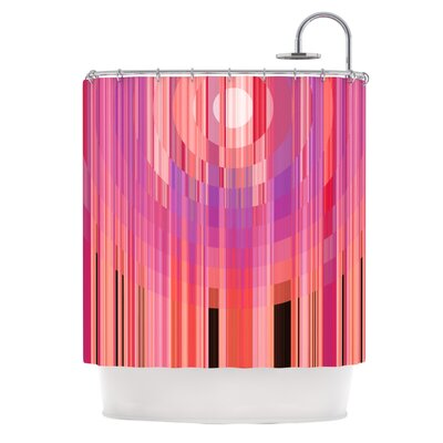 Mohave Sun by Nina May Geometric Shower Curtain