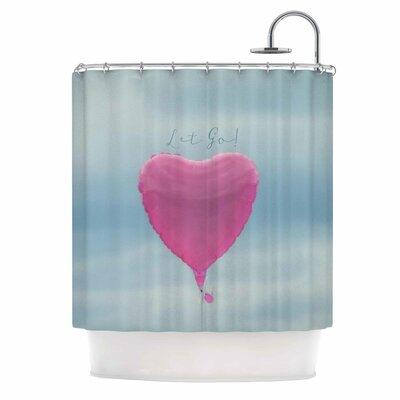 Let Go! by Robin Dickinson Shower Curtain