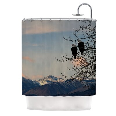 Majesty by Robin Dickinson Nature Landscape Shower Curtain