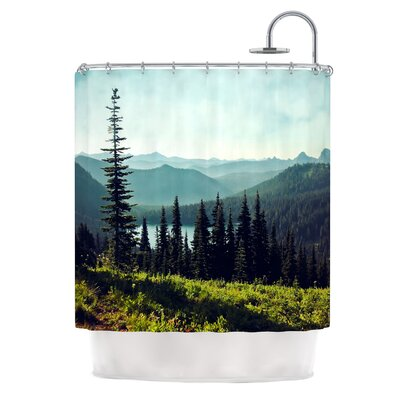 Discover Your Northwest by Sylvia Cook Landscape Shower Curtain