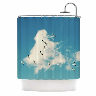 Snow Geese by Sylvia Cook Shower Curtain
