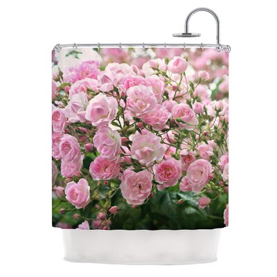 The Fairy Rose by Sylvia Cook Floral Shower Curtain