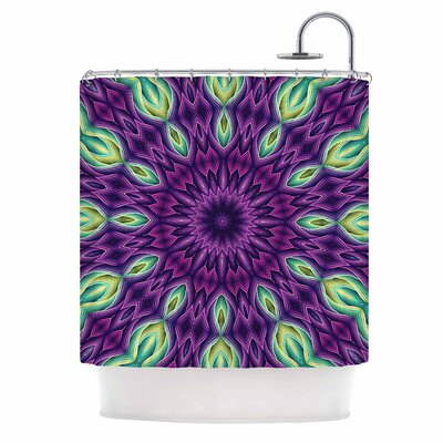 Zapped by Sylvia Cook Shower Curtain