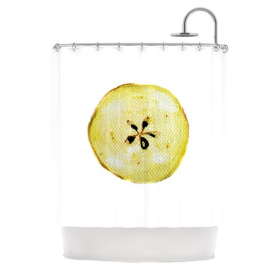 Apples by Theresa Giolzetti Shower Curtain