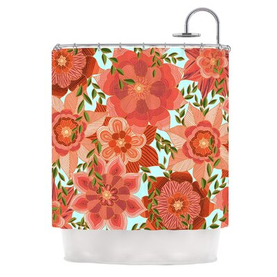 Flower Power by Art Love Passion Floral Shower Curtain