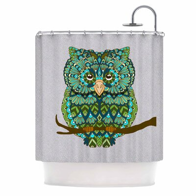 Great Owl by Art Love Passion Shower Curtain