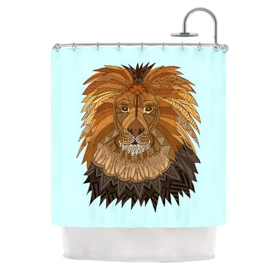 Lion by Art Love Passion Shower Curtain