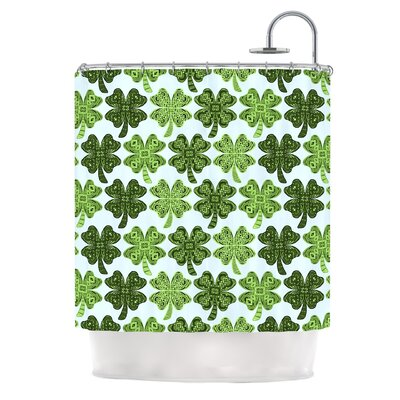Lucky You by Art Love Passion Shamrock Shower Curtain