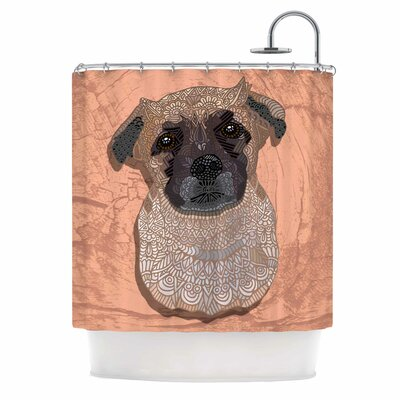 Mr. Milo by Art Love Passion Shower Curtain