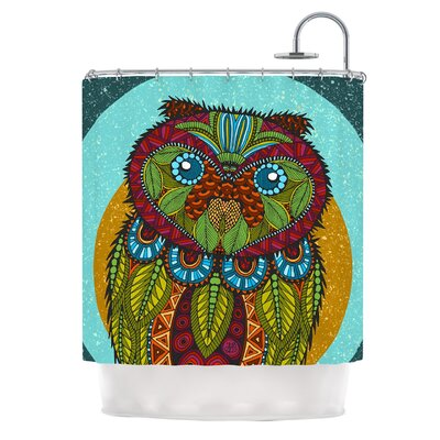 Owl by Art Love Passion Shower Curtain