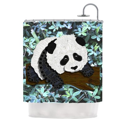 Panda by Art Love Passion Shower Curtain