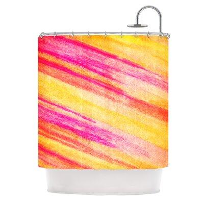 All That Jazz by Ebi Emporium Shower Curtain