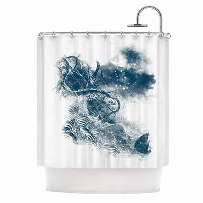 No Escape by Frederic Levy-Hadida Shower Curtain