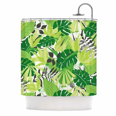 Tropicana by Jacqueline Milton Shower Curtain