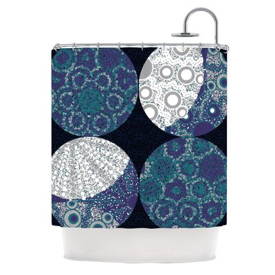 Moons by Laura Nicholson Shower Curtain