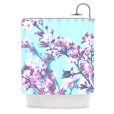 Cherry Phantasy by Monika Strigel Shower Curtain