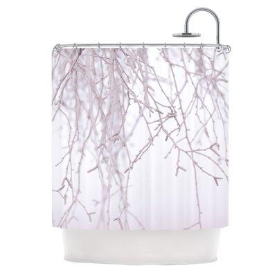 Frozen by Monika Strigel Shower Curtain