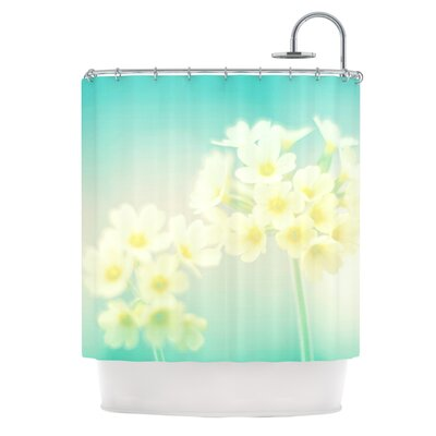 Happy Spring by Monika Strigel Shower Curtain
