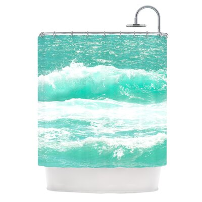 Maui Waves by Monika Strigel Shower Curtain