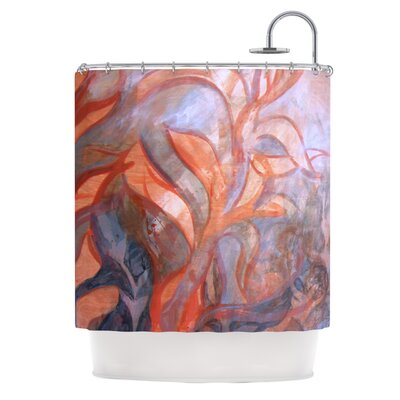 Seaweed by Theresa Giolzetti Shower Curtain
