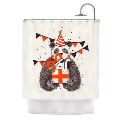 Happy Birthday by Tobe Fonseca Shower Curtain