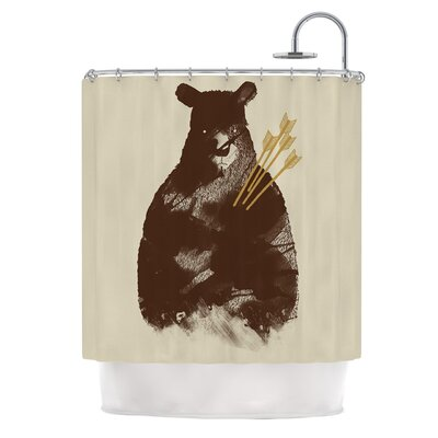 In Love by Tobe Fonseca Bear Shower Curtain
