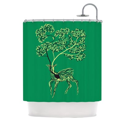 Nectar by Tobe Fonseca Deer Shower Curtain