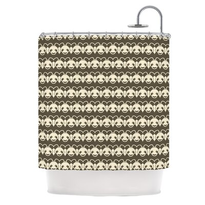 Panddern by Tobe Fonseca Panda Shower Curtain