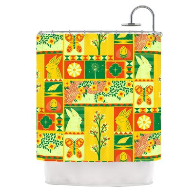 Spring by Tobe Fonseca Seasonal Shower Curtain