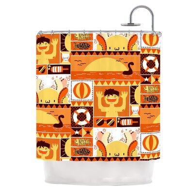 Summer by Tobe Fonseca Seasonal Shower Curtain