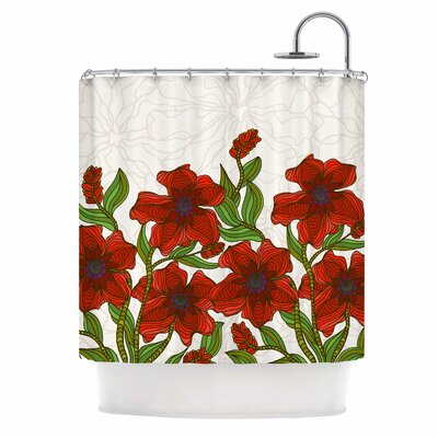 Poppy Field by Art Love Passion Shower Curtain