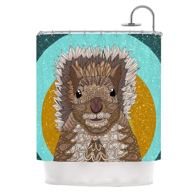 Squirrel by Art Love Passion Shower Curtain