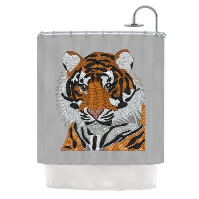 Tiger by Art Love Passion Shower Curtain