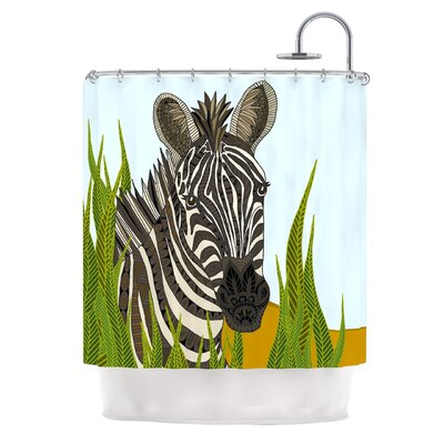 Zebra by Art Love Passion Shower Curtain