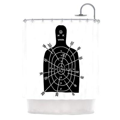 Arch Arrow by BarmalisiRTB Target Shower Curtain