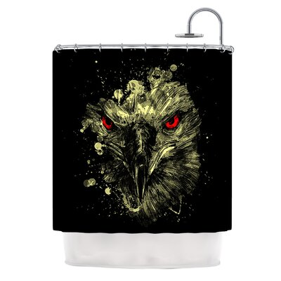 Eagle by BarmalisiRTB Shower Curtain