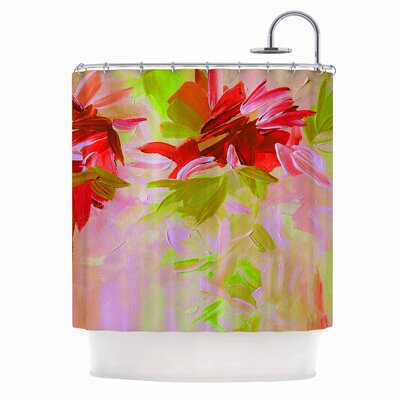 Deconstructing the Garden 2 by Ebi Emporium Shower Curtain
