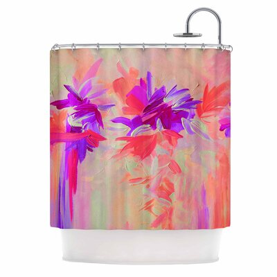 Deconstructing the Garden 3 by Ebi Emporium Shower Curtain