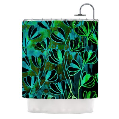 Efflorescence by Ebi Emporium Shower Curtain