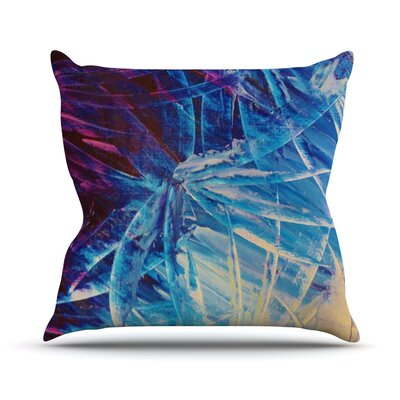 Night Flowers Outdoor Throw Pillow