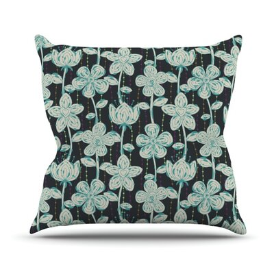 My Spotted Flowers Outdoor Throw Pillow